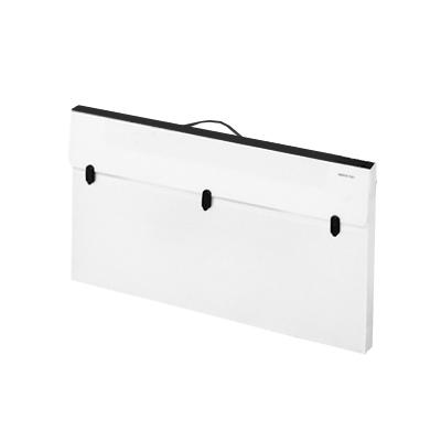 Valigia per trasporto desk portatile podium