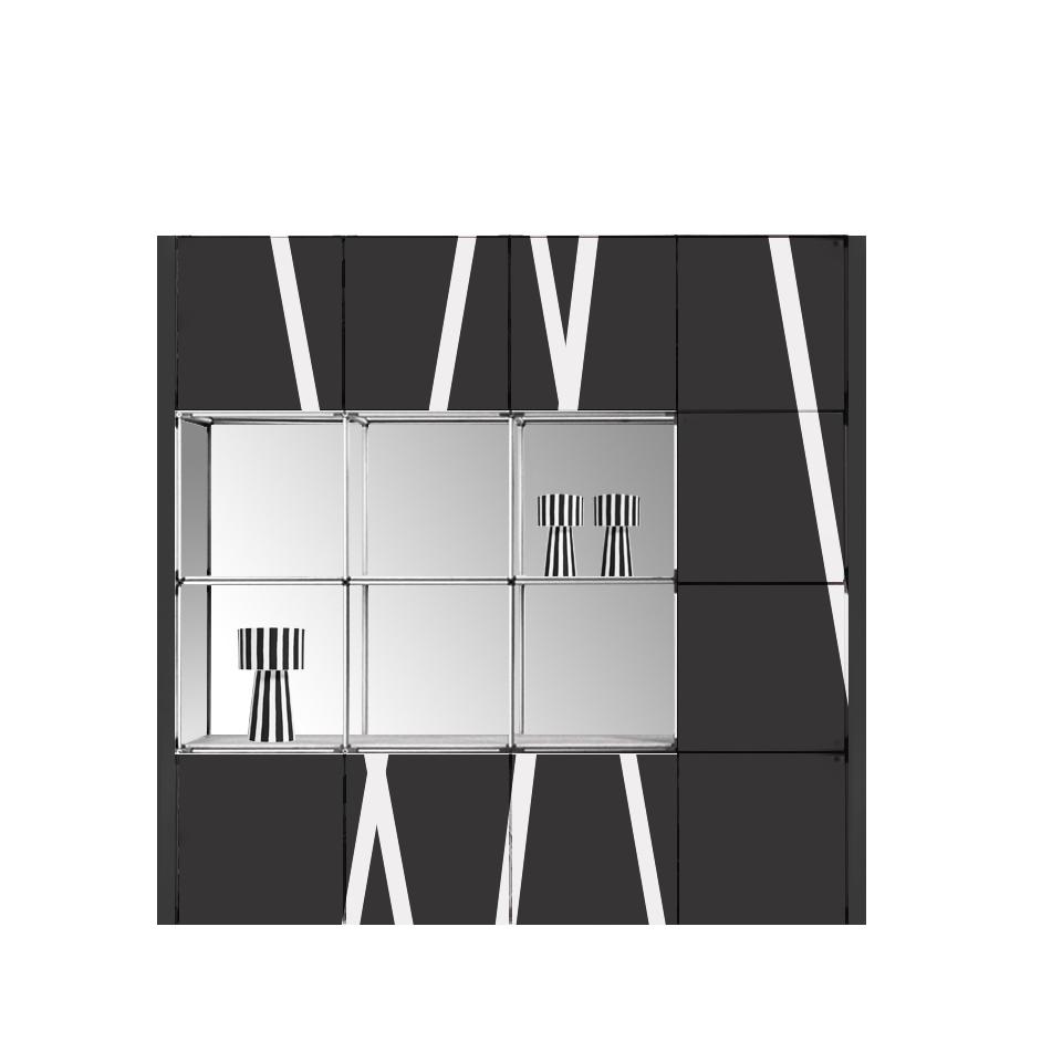 muro modular y seccional