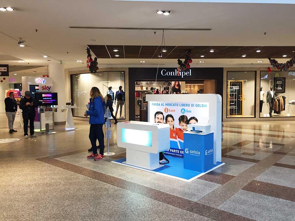 El centro comercial se convierte en Feria